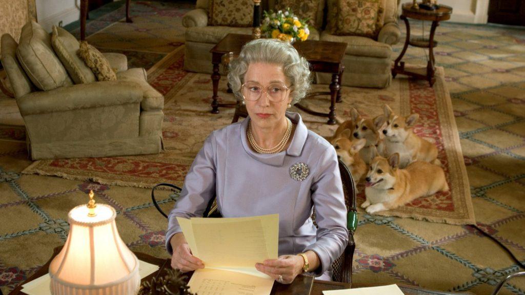 """Helen Mirren en """"La reina""""."""