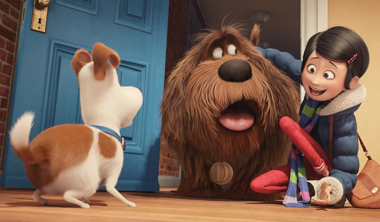 """""""La vida secreta de las mascotas"""" logró el mejor arranque del año."""