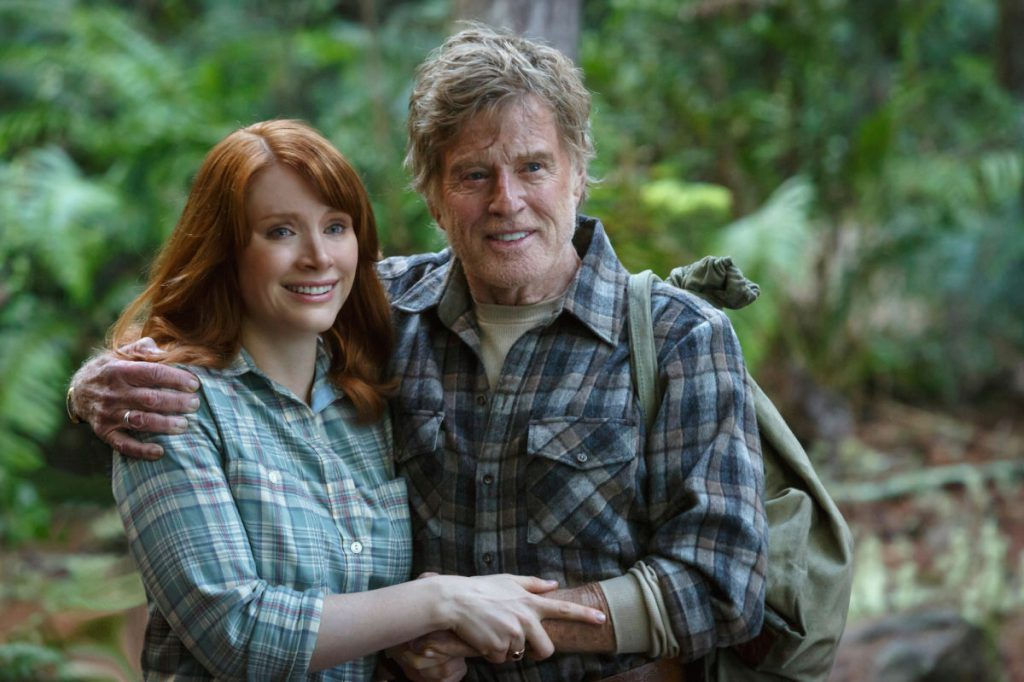Bryce Dallas Howard y Robert Redford.