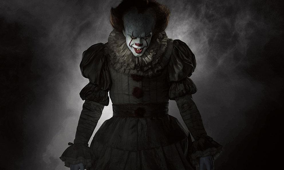 """Imagen del nuevo payaso Pennywise de """"It"""". Fuente: Entertainment Weekly."""