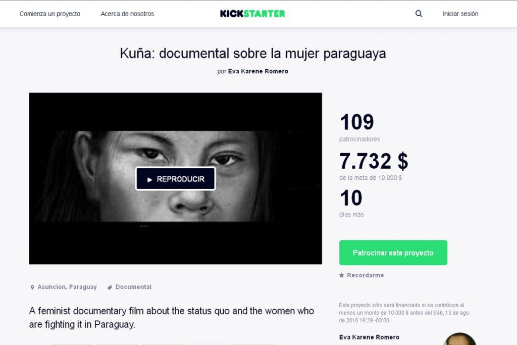 Documental sobre las mujeres paraguayas busca financiamiento colectivo