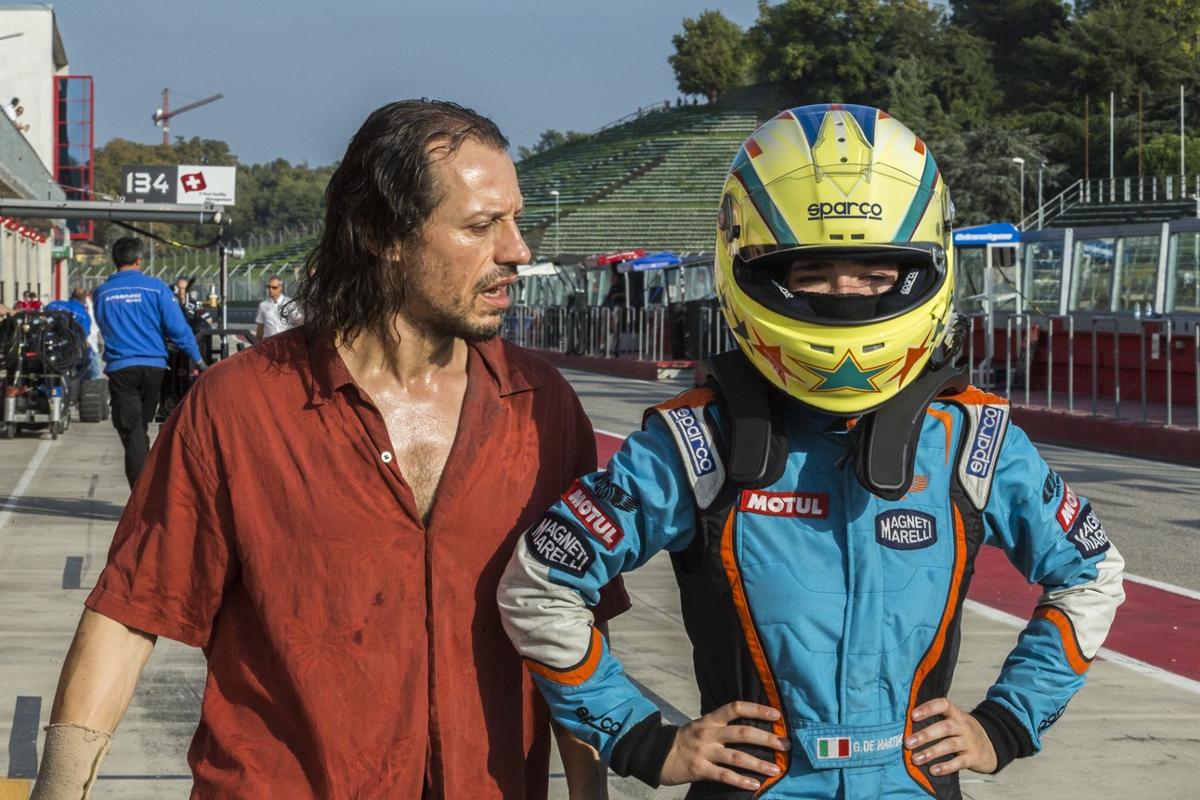 """""""Veloz como el viento"""": """"Es una pena que en Italia se hagan pocas películas de acción""""."""