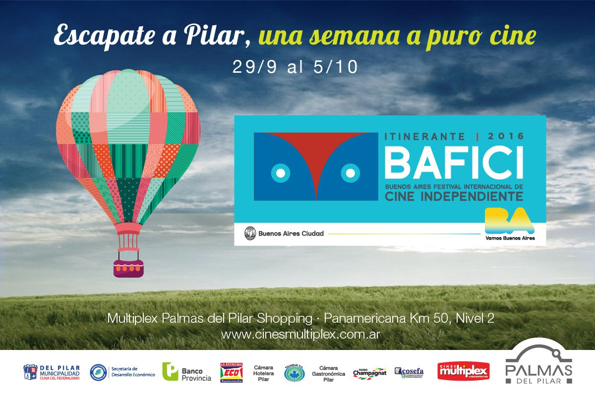 Bafici Itinerante Pilar 2016