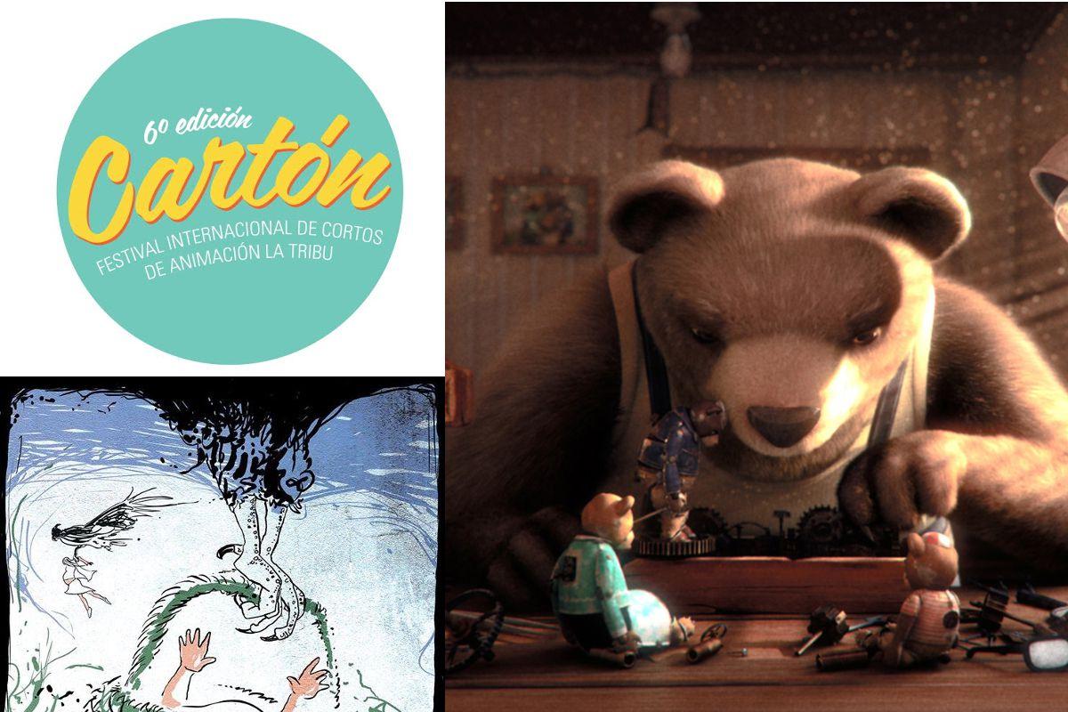 Llega la 6° edición de CARTÓN, el Festival Internacional de Cortos de Animación